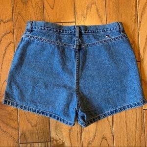 Women's Vintage High Waist Tommy Jean Denim Shorts